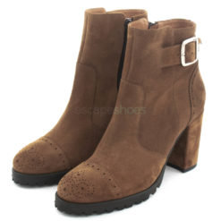 Ankle Boots RUIKA Suede Camel 69/10049