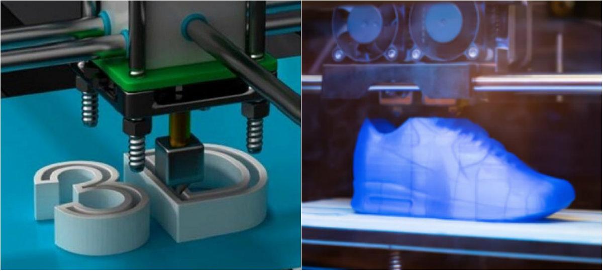 Impressao de sapatos 3D
