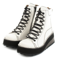 Ankle Boots FLY LONDON Hijinx Haku Offwhite P211019001