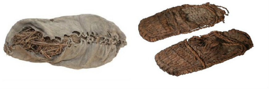 calçado pre-historico
