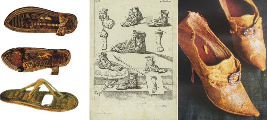 historia do calçado