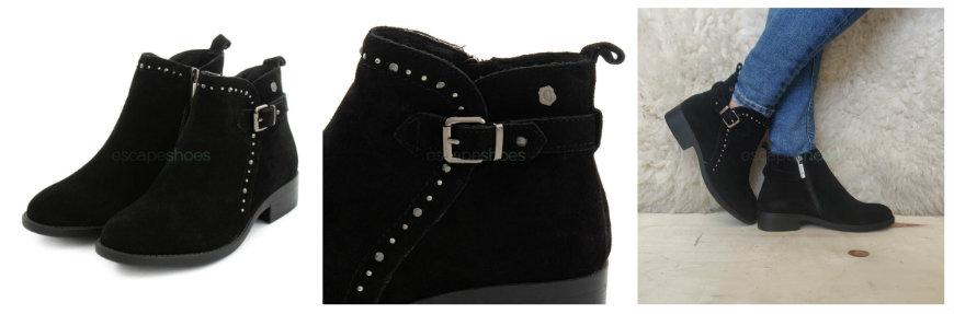 flat carmela ankle boots