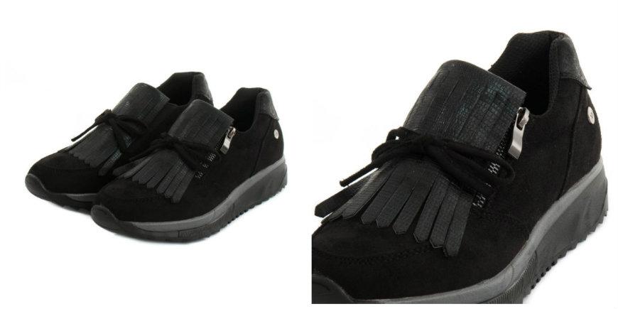 xti black sneakers