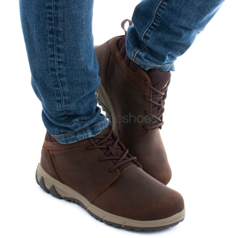 Botas MERRELL All Out Fusion Chukka North Castanhas