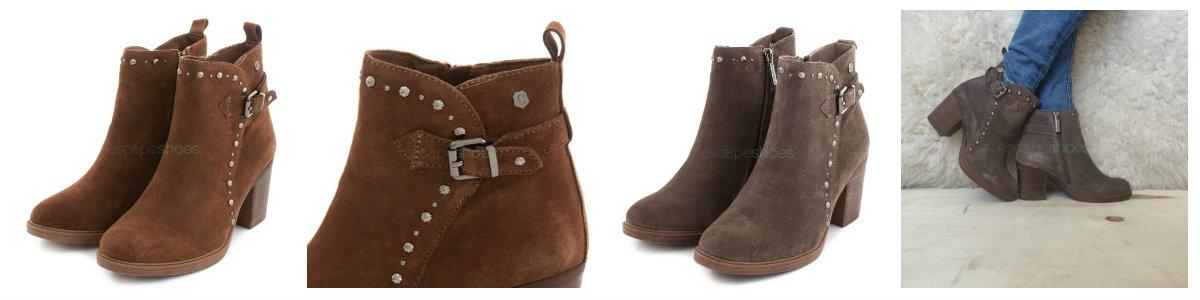 high heel carmela ankle boots