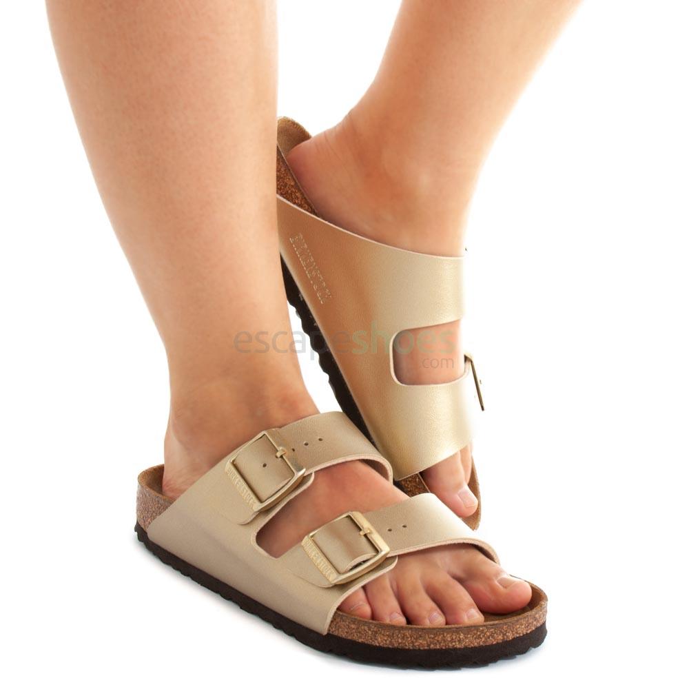 Sandals Birkenstock 1016111 Arizona Gold