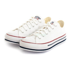 Sneakers CONVERSE All Star Chuck Taylor Platform EVA 668028C White and Navy