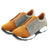 Zapatillas CUBANAS Run200B Camel Gris