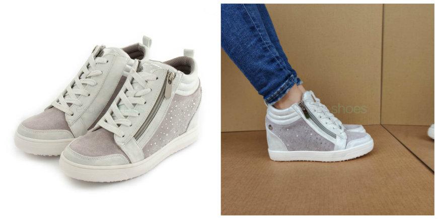 xti wedge sneakers