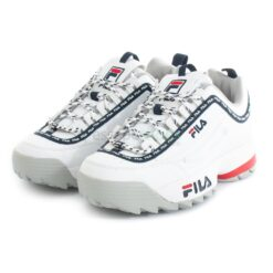 Sneakers Fila Disruptor Logo Low White Navy 1010748-92ND
