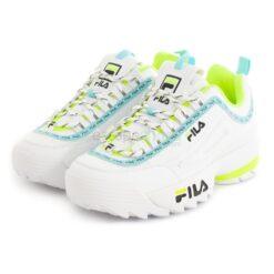 Sneakers FILA Disruptor Logo Low White Black 1010748-92QD
