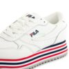 Tenis FILA Orbit Zeppa Stripe Branco 1010667-02PD