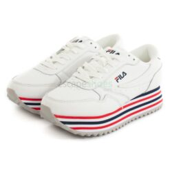 Tenis FILA Orbit Zeppa Stripe Branco 1010667-02PD