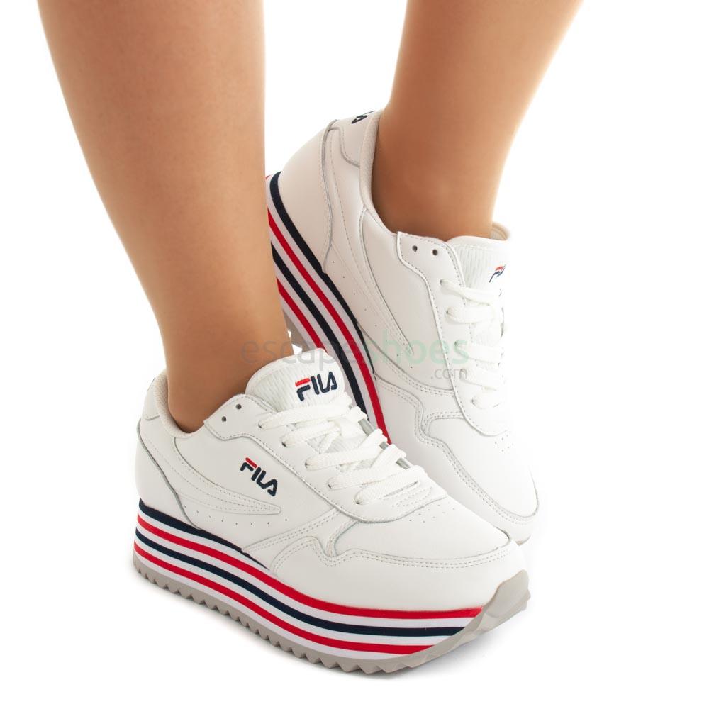 Sneakers FILA Orbit Zeppa Stripe White