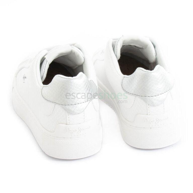Zapatillas PEPE JEANS Adams Lamu Blancas