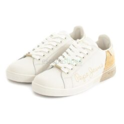 Sneakers PEPE JEANS Brompton Sequins Gold