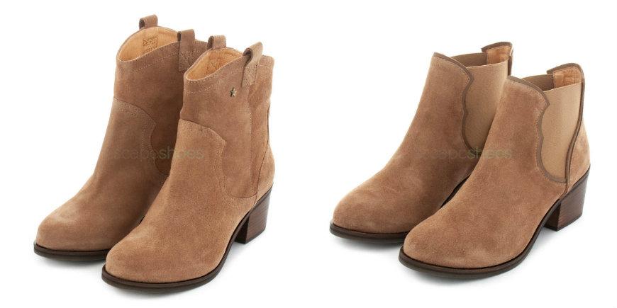 cowboy ankle boots Cubanas