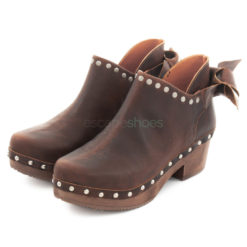 Ankle Boots XUZ With Bow Brown 25622-CS