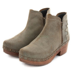 Ankle Boots XUZ Cutouts Grey 25615-C