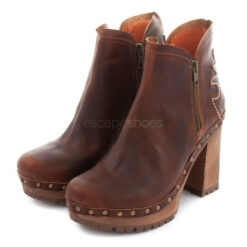 Ankle Boots XUZ Pop Cutout Cowboy Brown 26102-CS