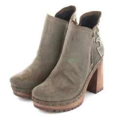 Ankle Boots XUZ Pop Cut-out Cowboy Grey 26102-C