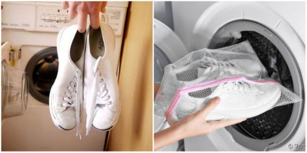 Lavar ténis maquina
