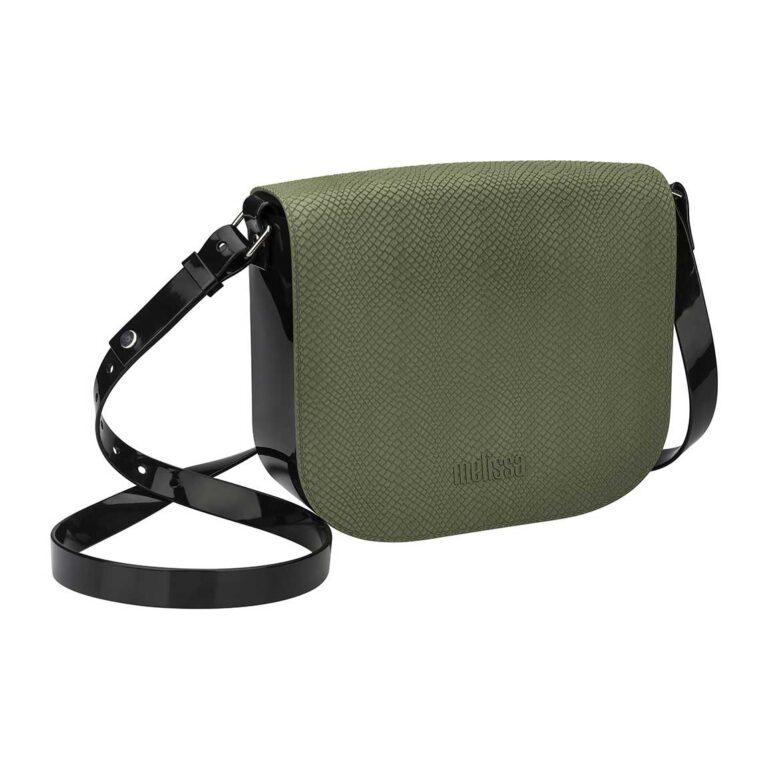 Bolso MELISSA Essential Snake Verde