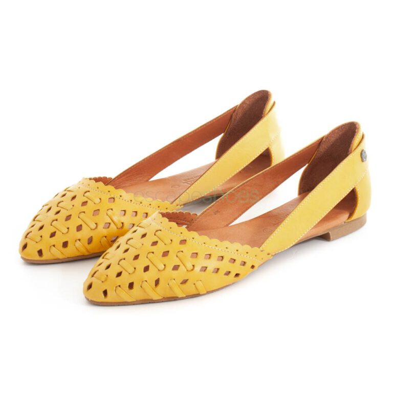 Ballerinas CARMELA Napa Yellow