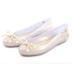 Ballerinas MELISSA Sweet Love Pearl White