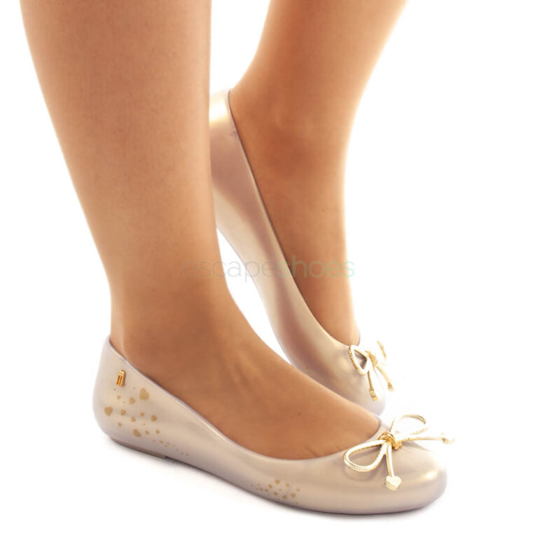 Ballerinas MELISSA Sweet Love Pearl White