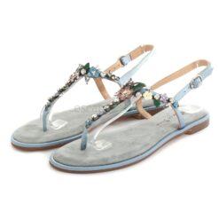 Sandalias ALMA EN PENA Suede Jeans V20980