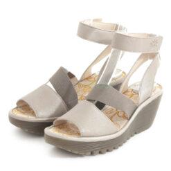 Sandals FLY LONDON Borgogna Yode126 Silver