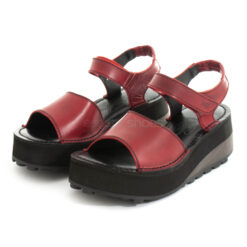 Sandals FLY LONDON Bridle Host483 Red