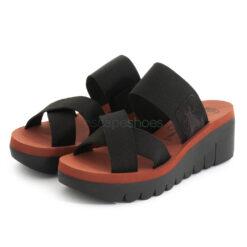 Sandals FLY LONDON Cupido Yabo593 Black