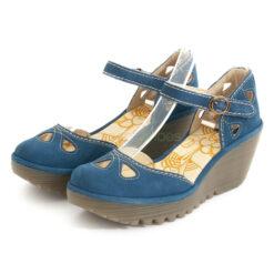 Sandals FLY LONDON Cupido Yuna Blue