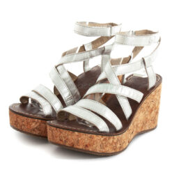 Sandals FLY LONDON Idra Gano619 Silver