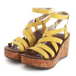 Sandals FLY LONDON Mousse Gano619 Yellow