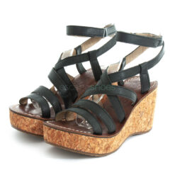 Sandals FLY LONDON Mousse Gano619 Black