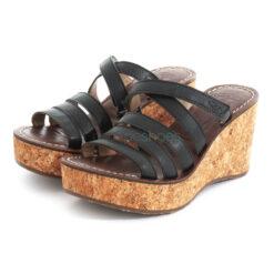 Sandals FLY LONDON Mousse Gove620 Black