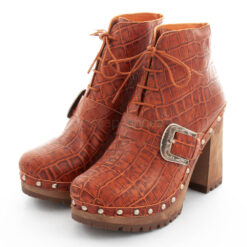 Ankle Boots XUZ Pop Croco Brown 26095-CS