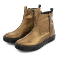 Ankle Boots XUZ Rubber Sole Gold 25957-O