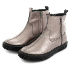 Ankle Boots XUZ Rubber Sole Silver 25957-P