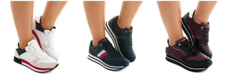 sporty sneakers tommy