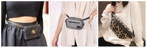 pochetes cintura senhora