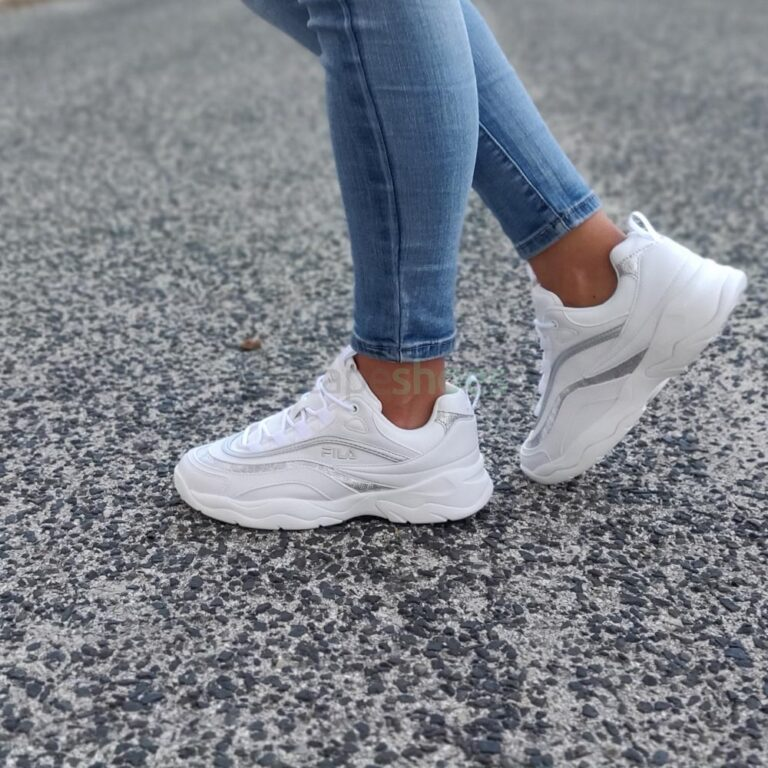 Sneakers FILA Ray F White Silver 1010879-93N