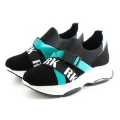 Zapatillas RUIKA Cam Elastico Negro Azul 38/6179-P