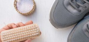 como desinfectar calçado