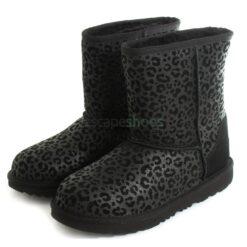 Botas UGG AUSTRALIA Kids Classic II Glitter Leopard 1112388K Black
