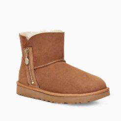 Botas UGG AUSTRALIA W Bailey Zip Mini 1112481 Chestnut