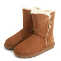 Botas UGG AUSTRALIA W Bailey Zip Short 1112480 Chestnut